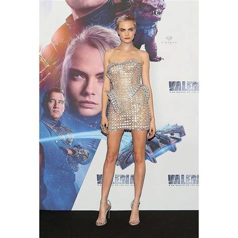 Cara Delevingne's latest naked dress is made of glass