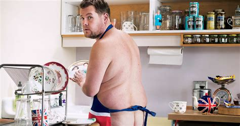 James Corden Bares His Bum In Cheeky Photo Shoot For GQ