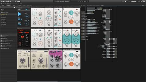 Komplete : Synths : Reaktor 6 | Products