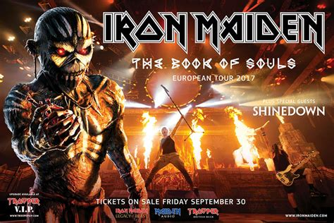 Iron Maiden tickets: How to get tickets to The Book of