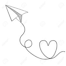 paper airplane clipart and love - Google Search | Bailee's