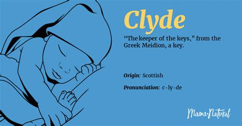 Clyde Name Meaning, Origin, Popularity, Boy Names Like
