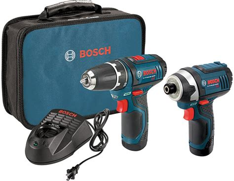 HOT DEAL: Bosch 12V Cordless Drill and Impact Driver Combo