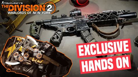 The Division 2 | All New Exotics, Items & skill in-depth