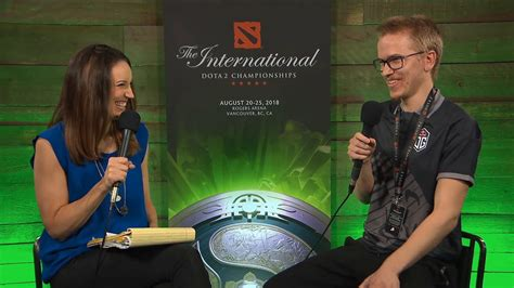 Interview from Topson | TI8 - OG vs PSG