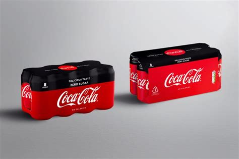 Coca Cola to swap plastic wrap for cardboard - letsrecycle